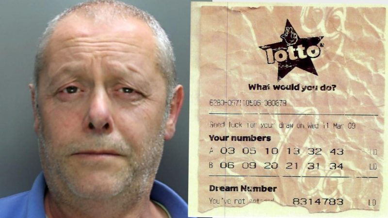 Lotto winner who conspired with Camelot staffer to claim £2.5 million jailed for 9 years
